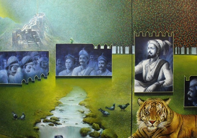 A tiger with men of Vaolur